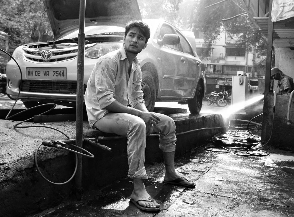 Garage Mechanic / Pic Courtesy : Nikunj Rathod