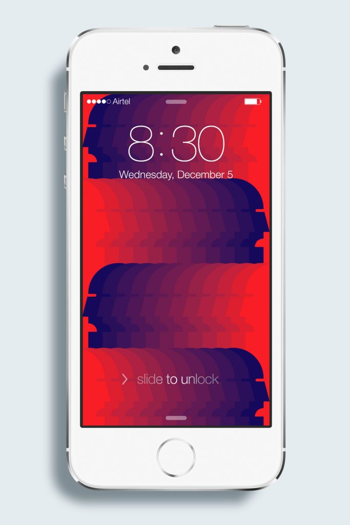 iOS 7 GUI PSD (iPhone 5S/C)